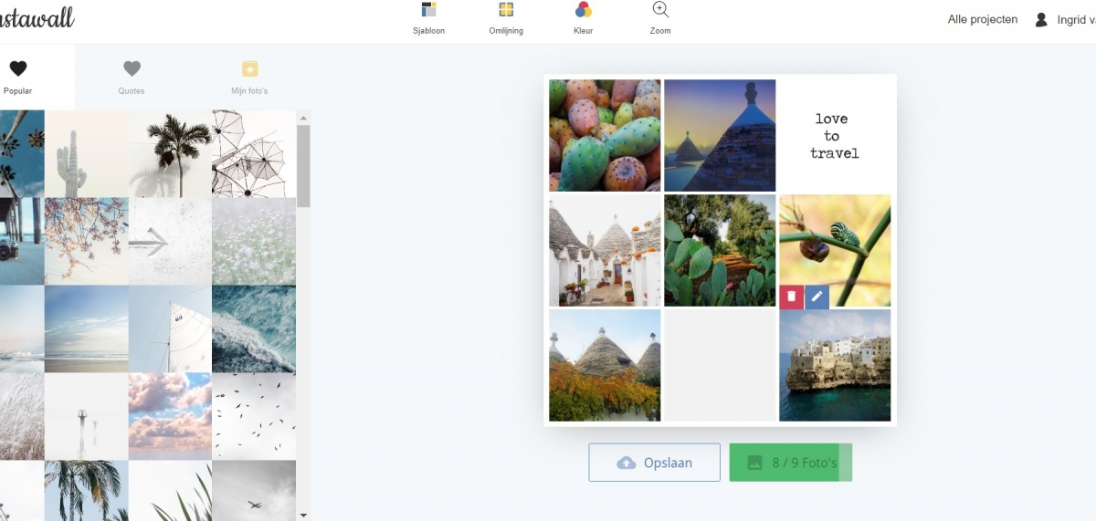 Review: Instawall collage