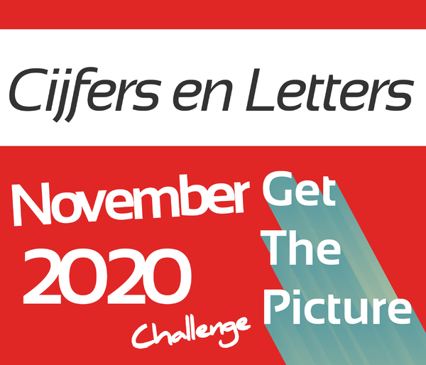 Get The Picture Challenge; CIJFERS en  LETTERS | 1 november t/m 28 november