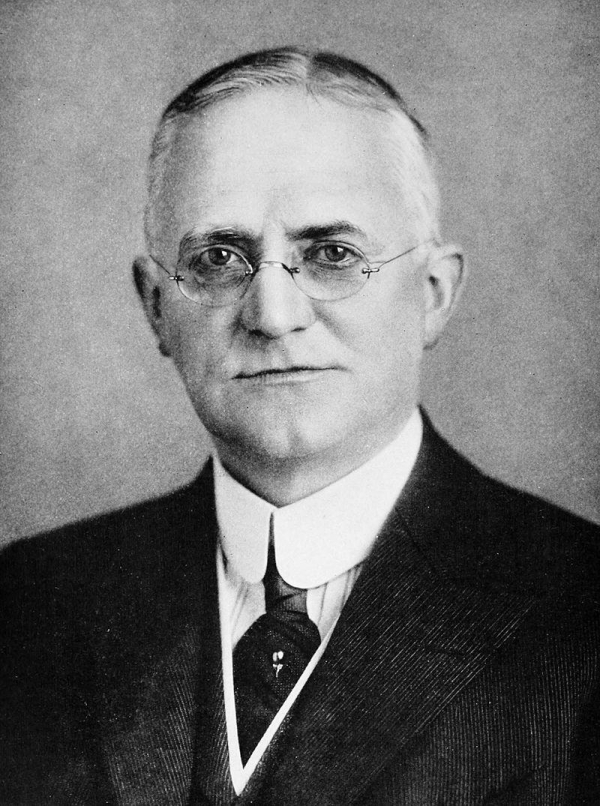 George Eastman in 1917