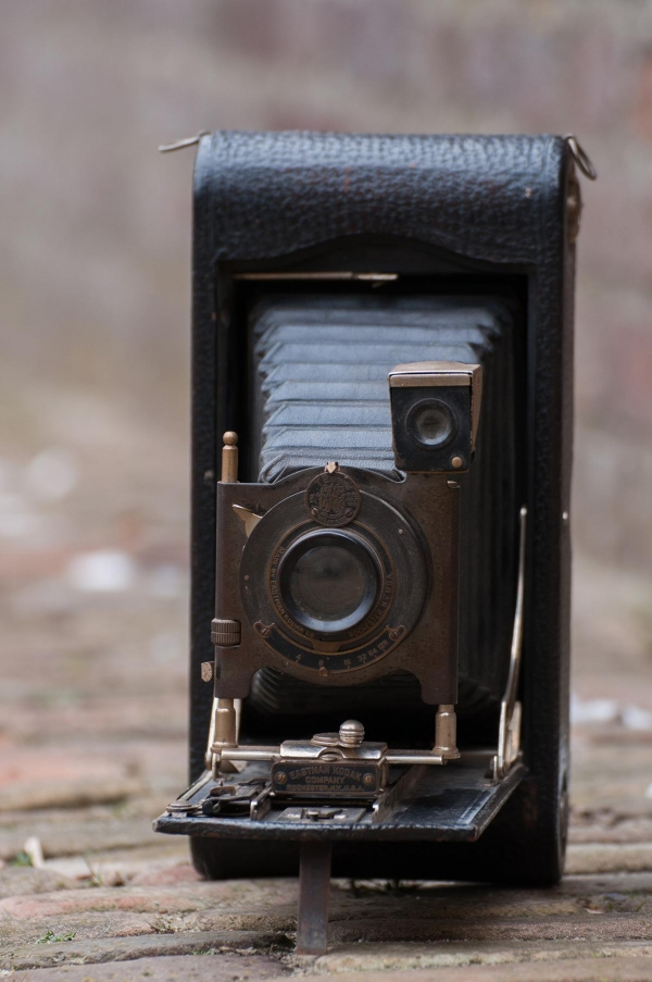 Kodak 'vouwcamera' origineel 'Folding camera of 'Folder'