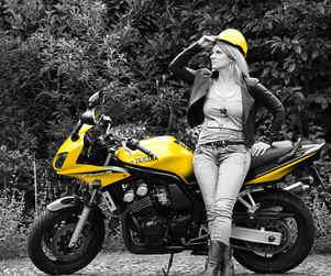 Woman and Yellow