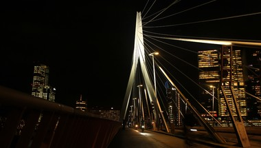 De Erasmusbrug by night